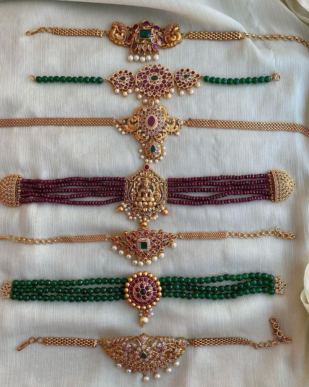 antique-choker-necklace-designs
