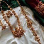 Antique Temple Jewellery Set