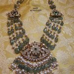 Beads Pearl And Stone Necklace