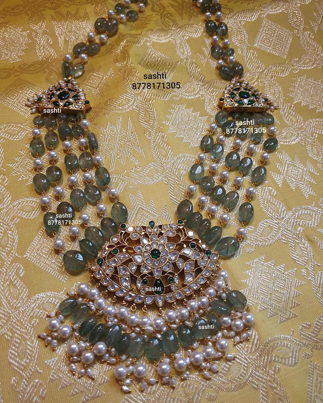 beads-pearl-stone-necklace