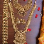 Gold Like Polished Bridal Jewellery Set