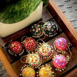 Handpainted Colorful Jhumkas