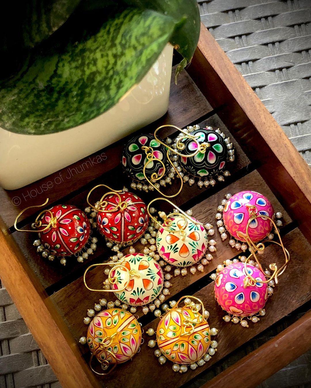 handpainted-colorful-jhumkas