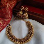 Imitation Cluster Pearls Necklace Set
