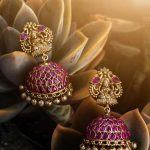 Antique Kemp Lakshmi Jhumkas