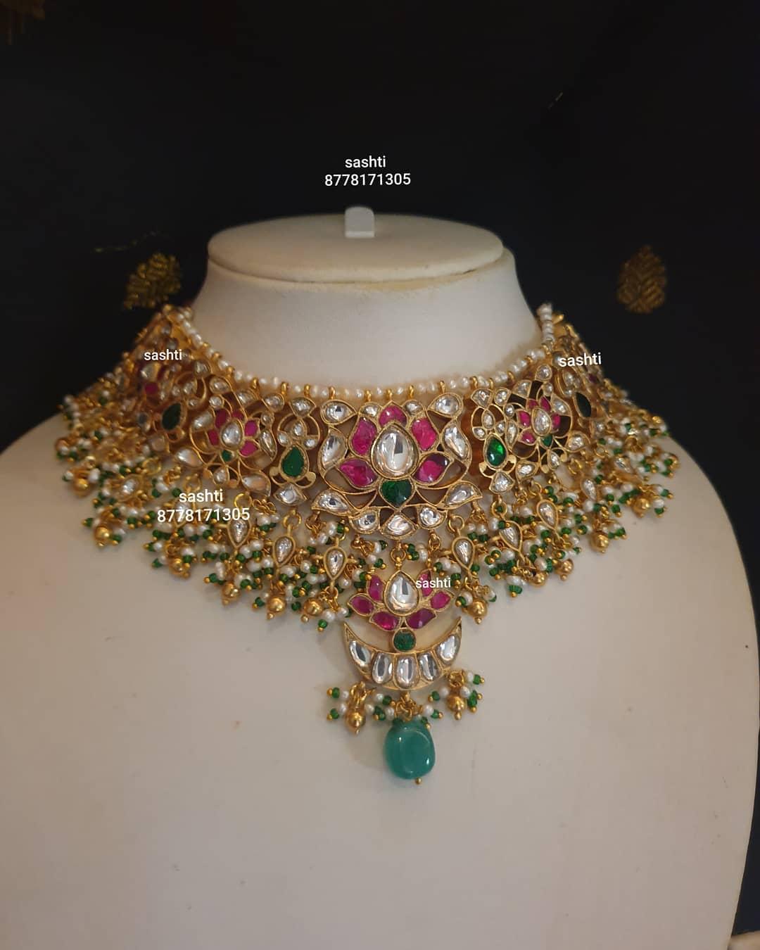 kundan-guttapusalu-choker-necklace