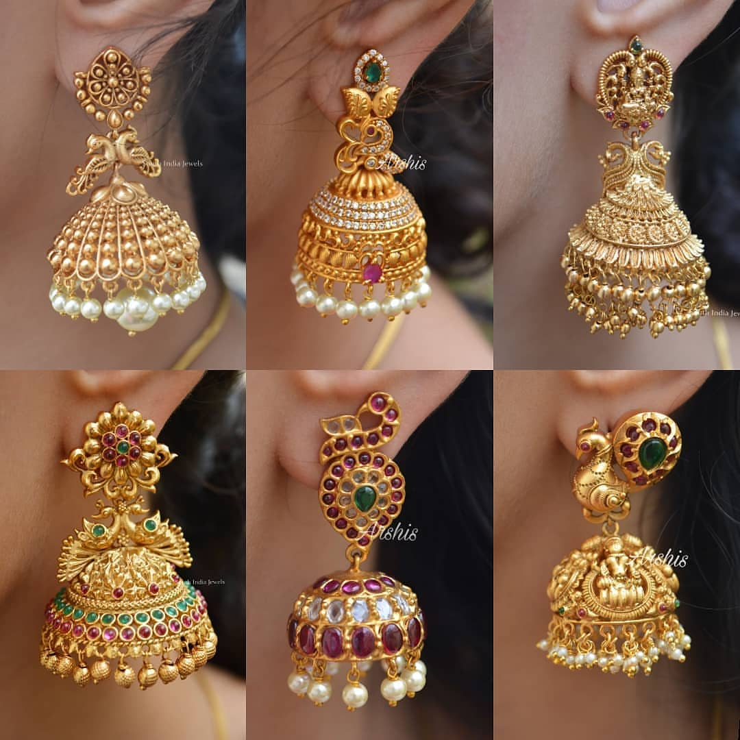 stunning-antique-jhumka-collection