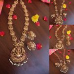 Temple Haram Necklace Sets