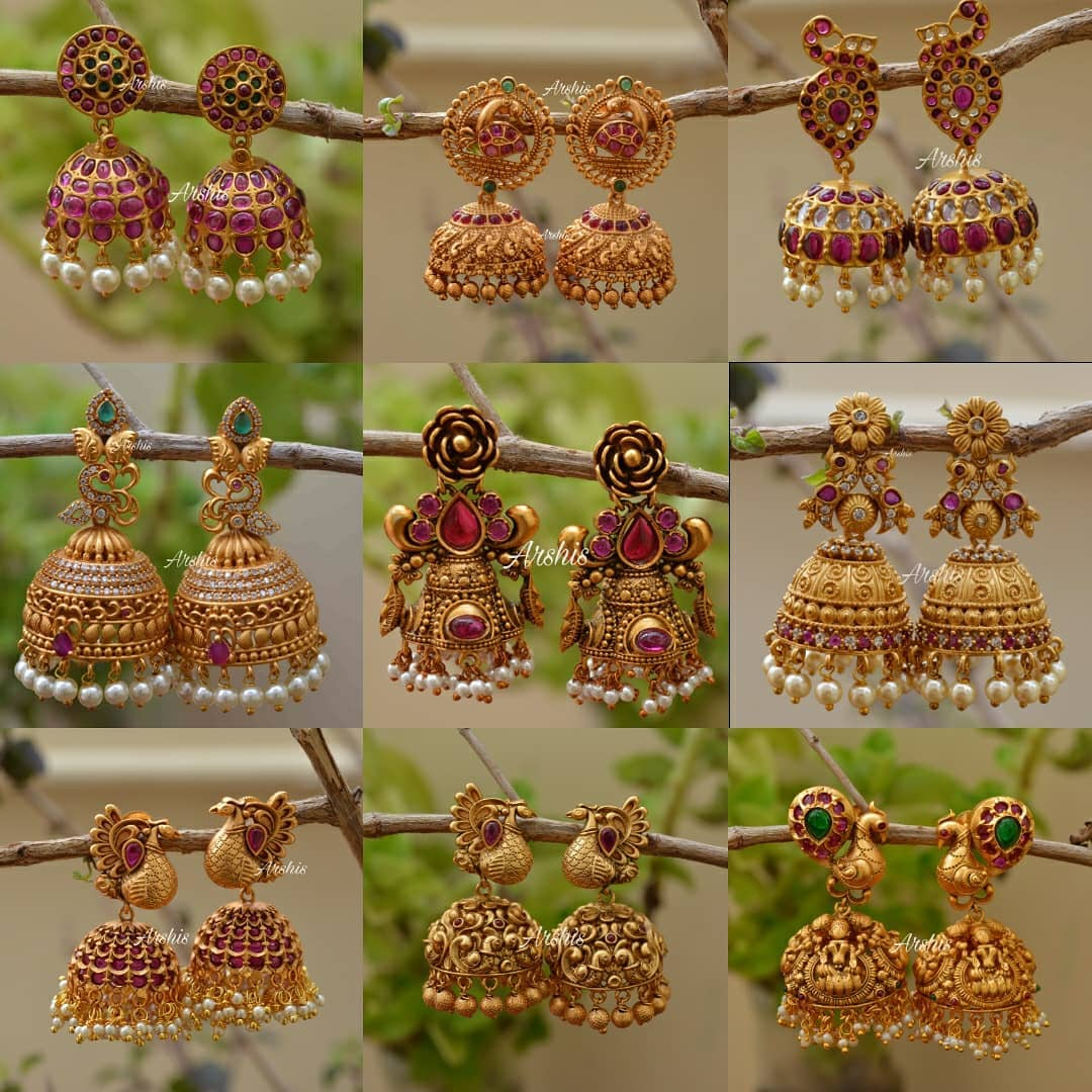 antique-jhumkas-designs-collection