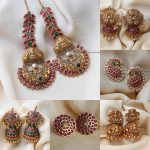 Antique Jhumkas And Ear Studs