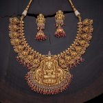 Antique Lakshmi Necklace Set