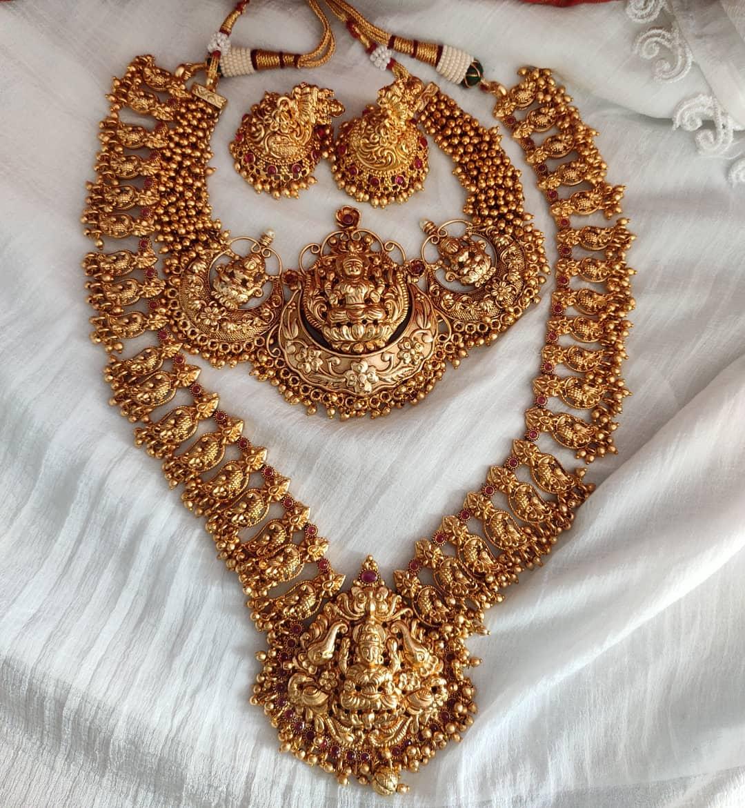 antique-temple-necklace-set