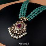 Beads And Precious Stones Necklace
