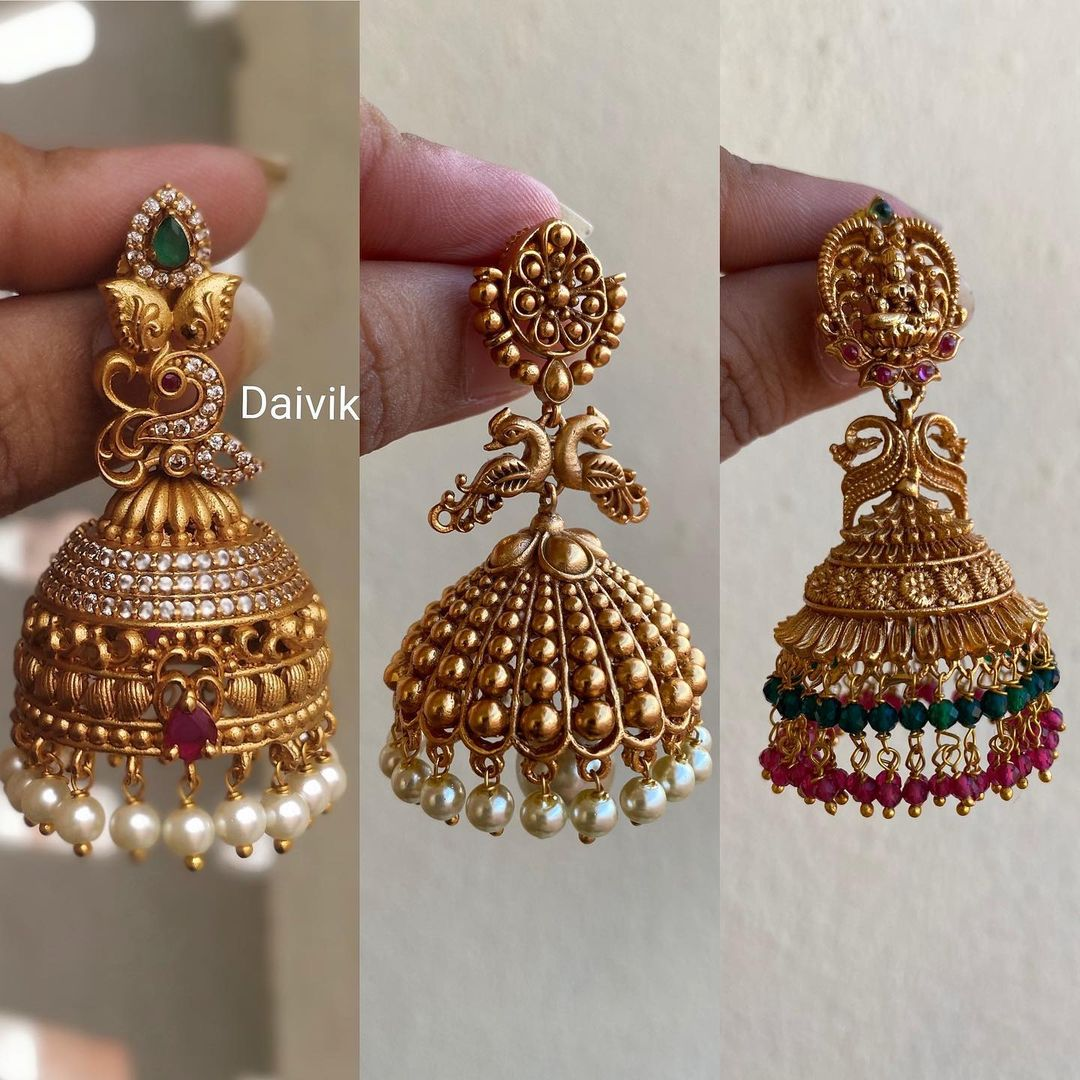 best-selling-antique-jhumkas-collection