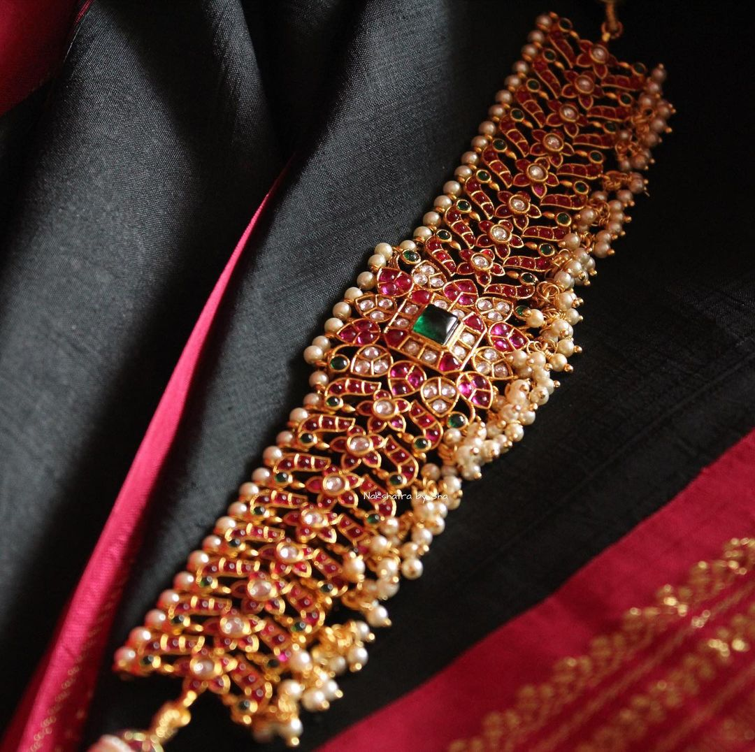 floral-real-kemp-choker-necklace-set