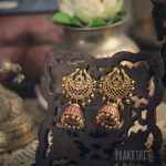 Full Gold Antique Jhumkas