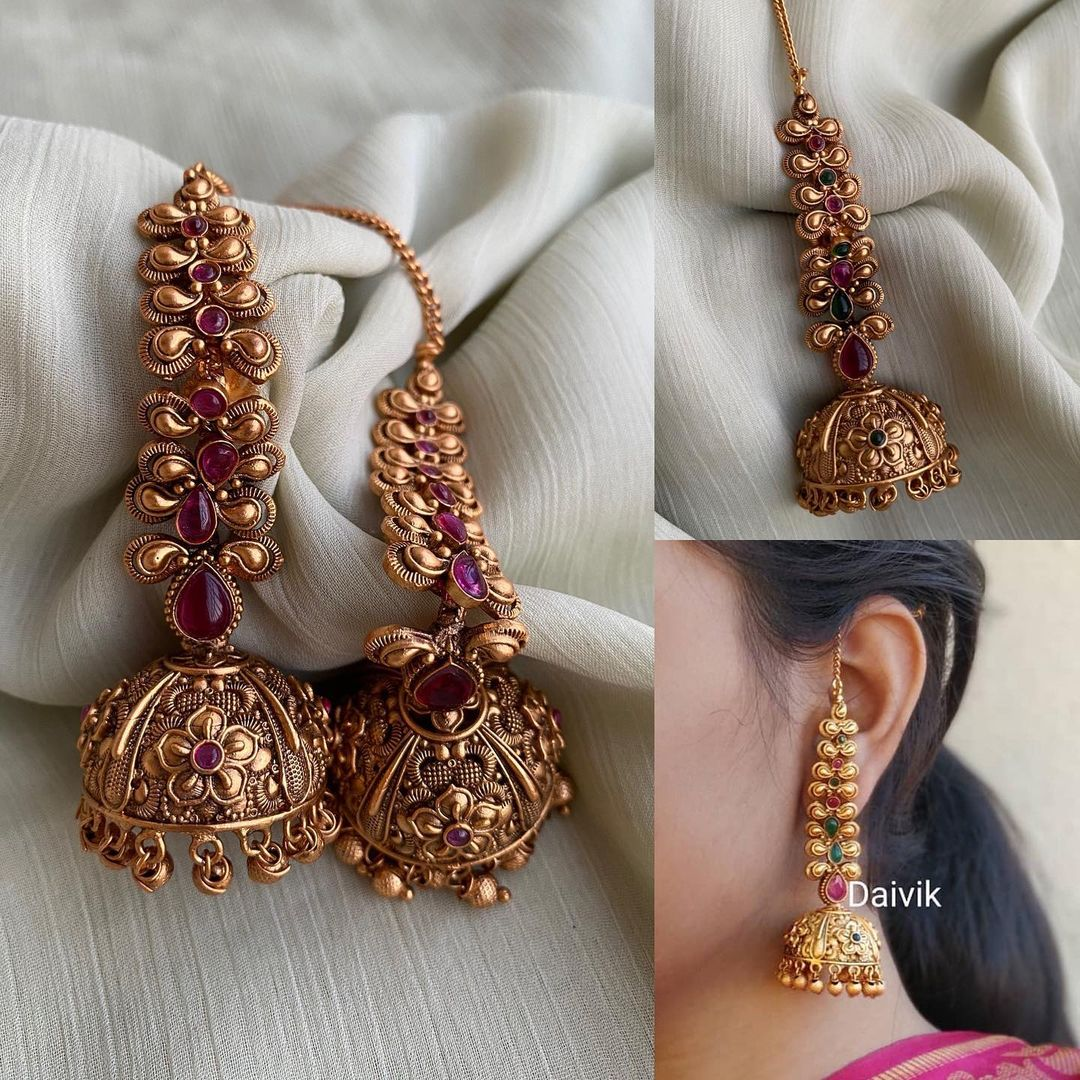 jhumkas-with-attached-mattals