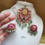 Kundan Guttapusalu Necklace Set