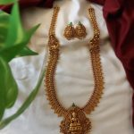 Long Lakshmi Necklace Set
