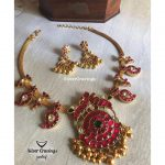 Mango Design Kundan Necklace