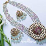 Pastel Beads Necklace Set