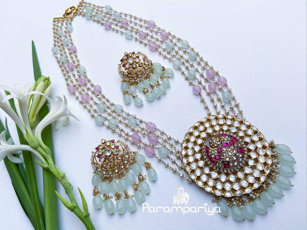 pastel-beads-necklace-set