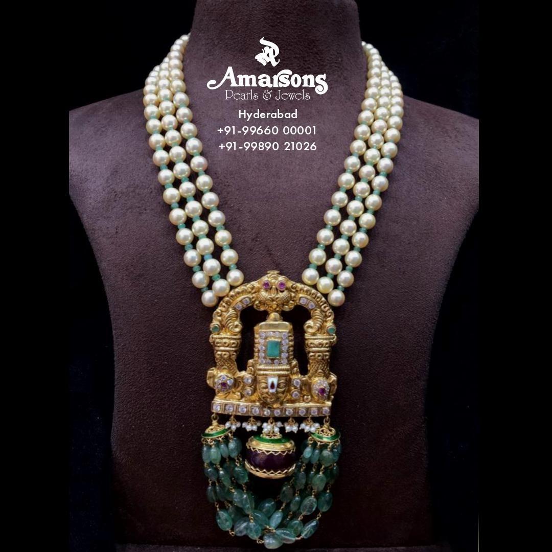 pearl-balaji-gold-pendant-with-emerald-stone