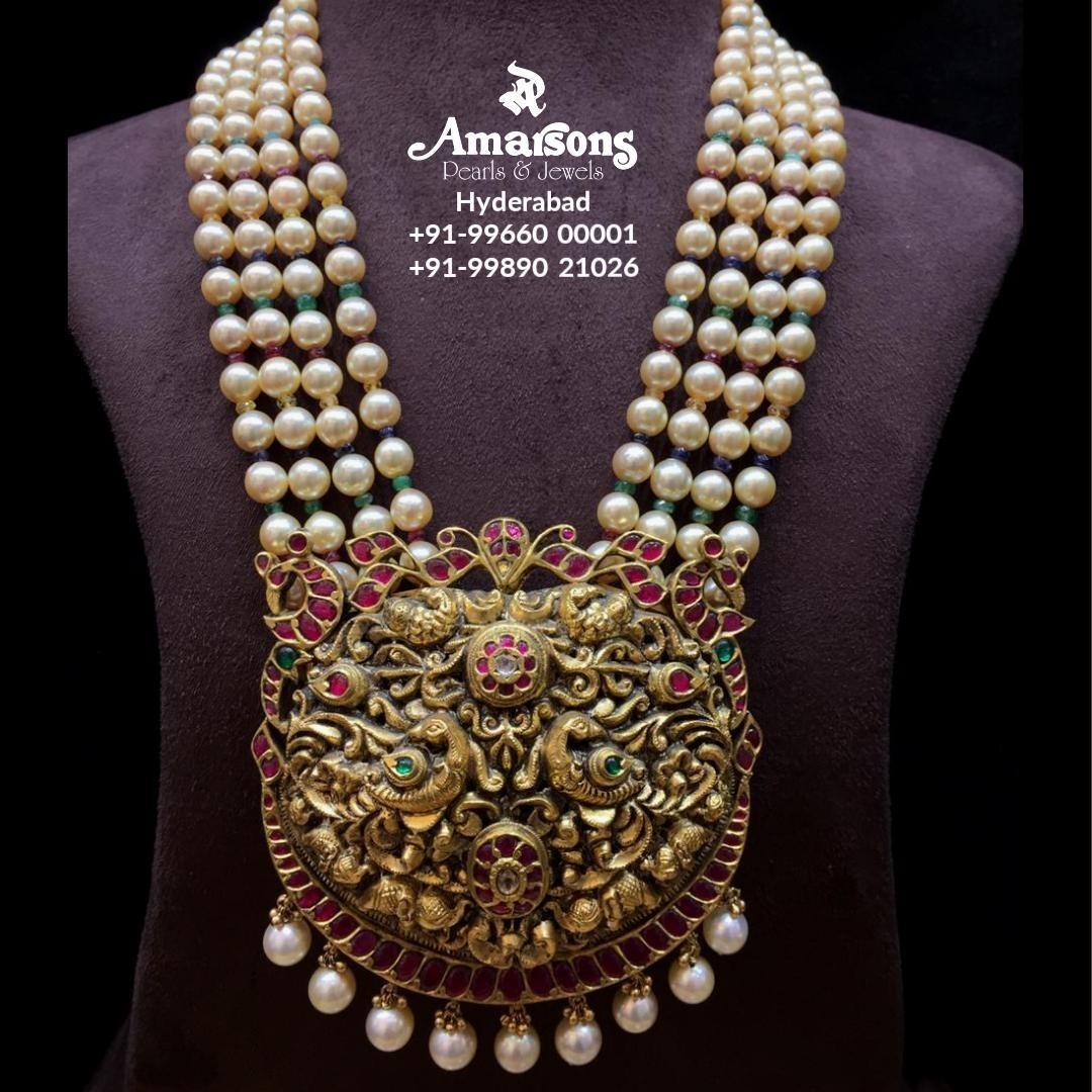 pearl-mala-with-gold-nakshi-kundan-pendant