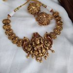 Pottu Lakshmi Necklace Set