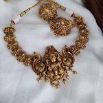 Pottu Lakshmi Necklace Set
