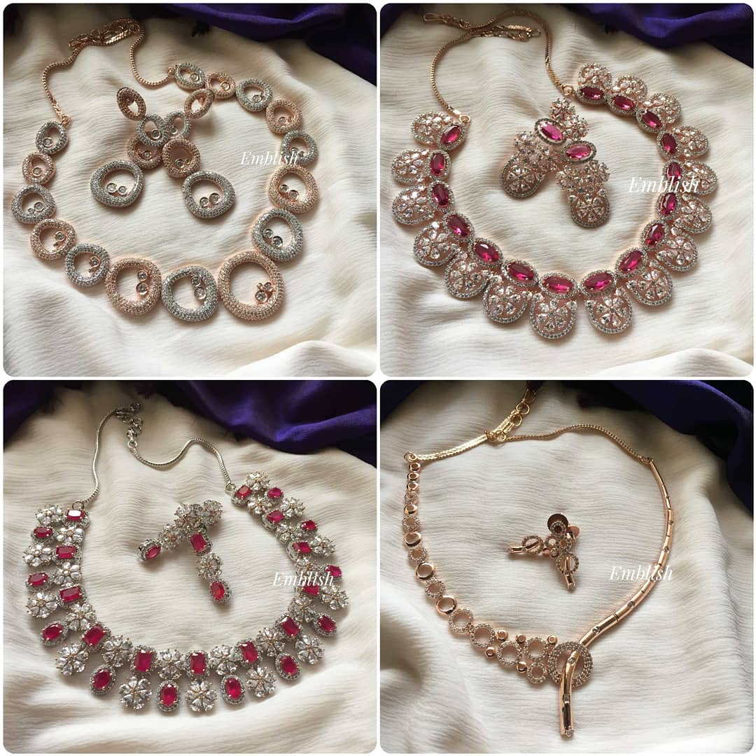 rose-gold-ad-stones-necklace-collection