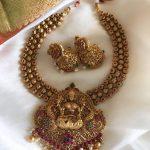 Royal Antique Temple Necklace Set
