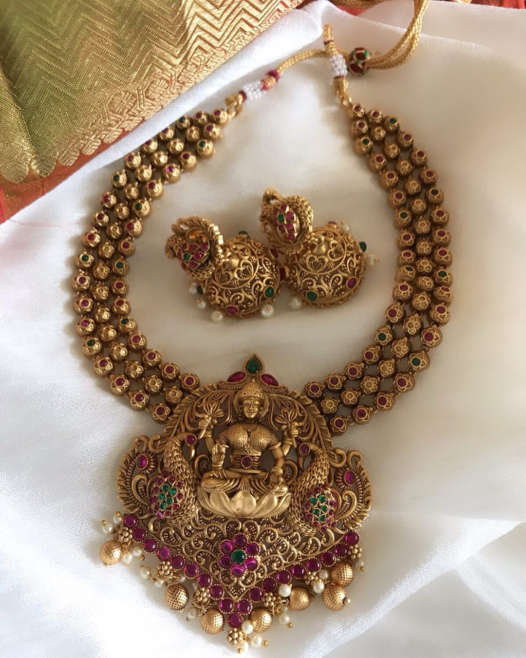 royal-antique-temple-necklace-set