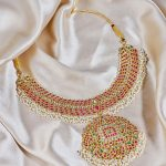 Rubies And Emerald Polki Necklace