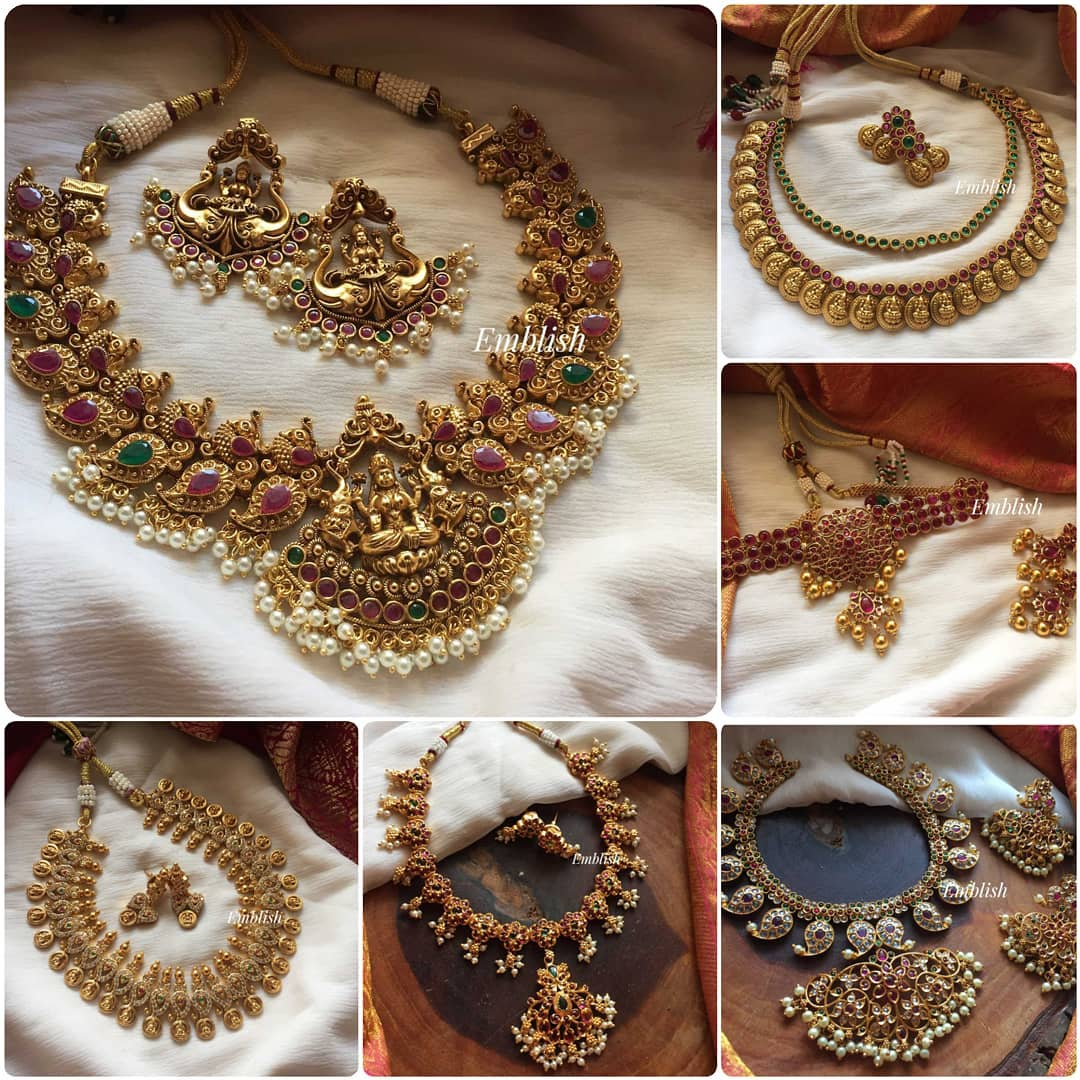 short-imitation-necklace-sets
