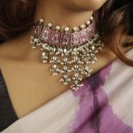 Silver Kemp Guttapusalu Choker Necklace