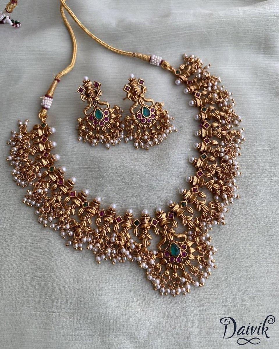 simple-guttapusalu-necklace-earrings