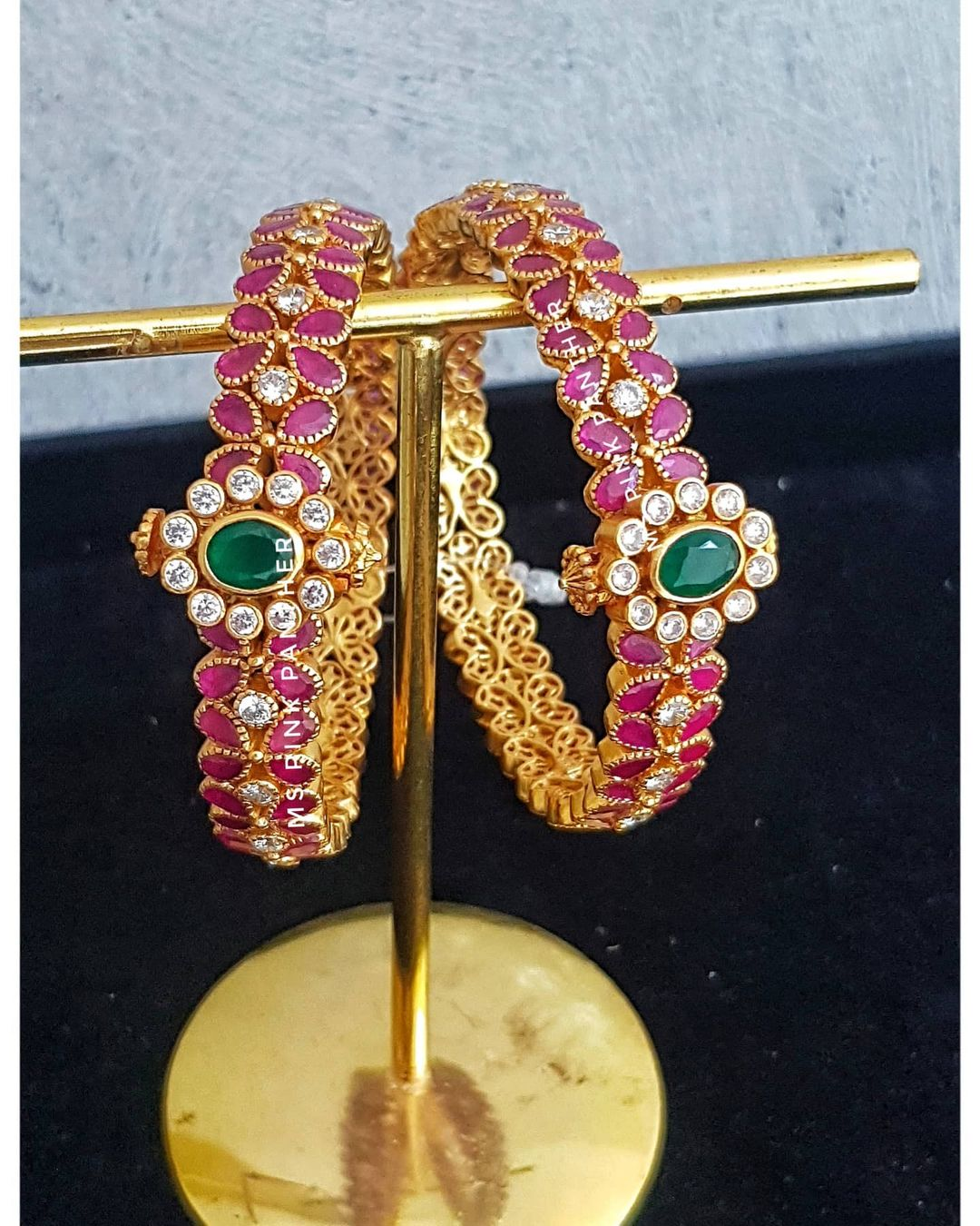 stone-studded-screw-bangles