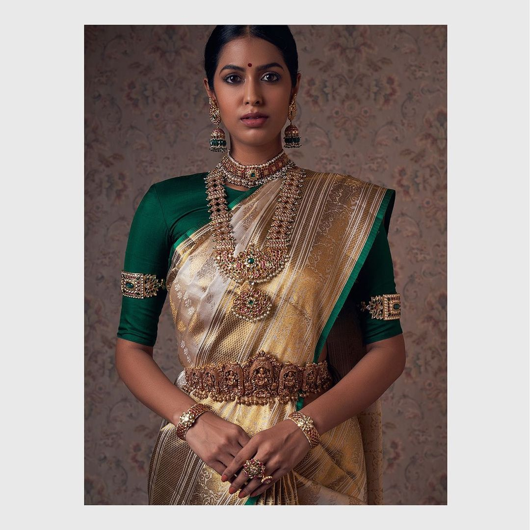 temple-gold-bridal-jewellery-set