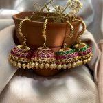 Traditional Hook Jhumkas