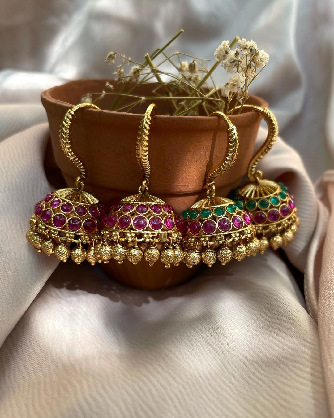 traditional-hook-jhumkas