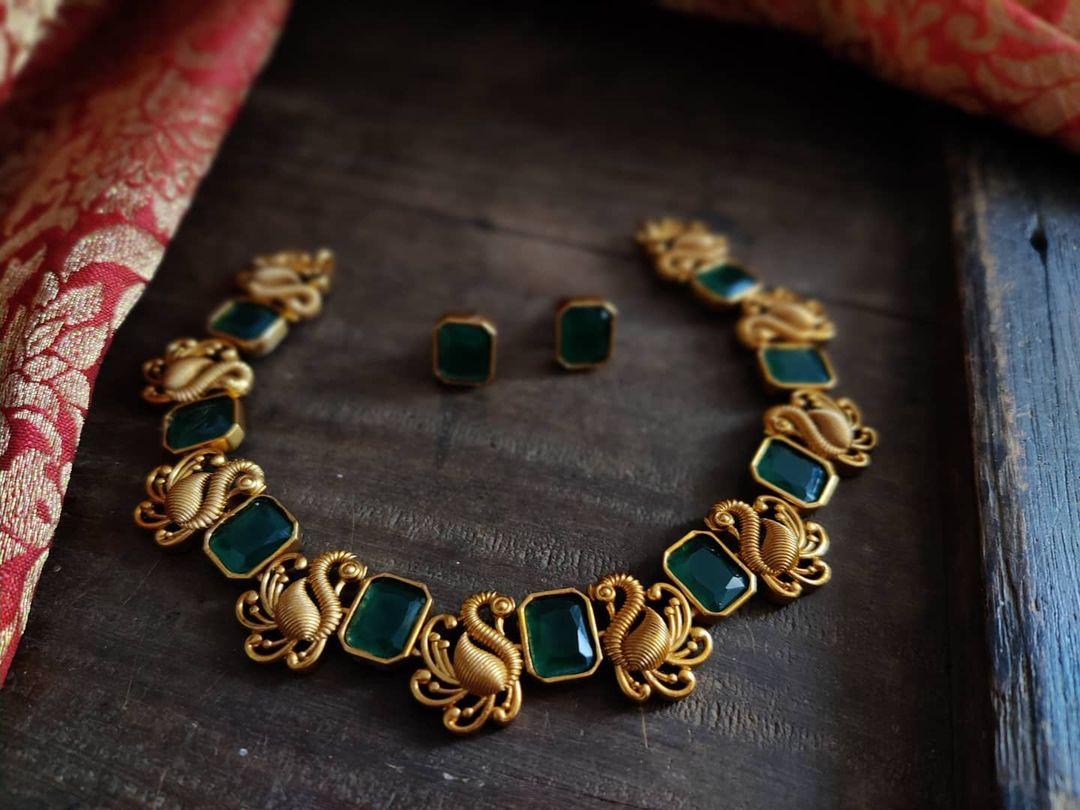 antique-kerala-style-necklace-set