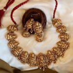 Bold Antique Lakshmi Necklace Set