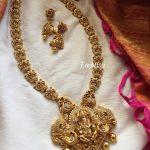 Lord Ganesha Gold Alike Necklace Set