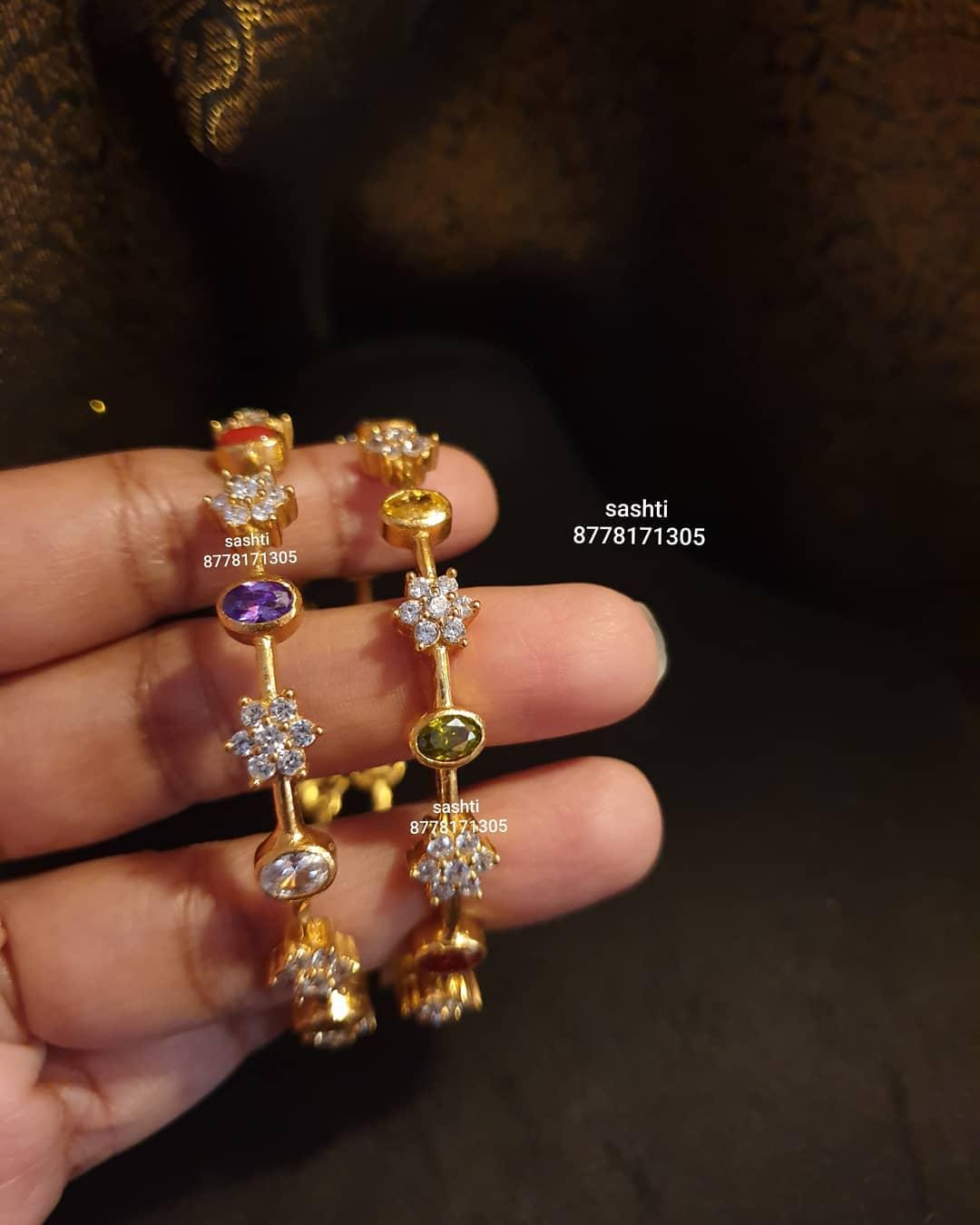 multicolor-stone-bangles
