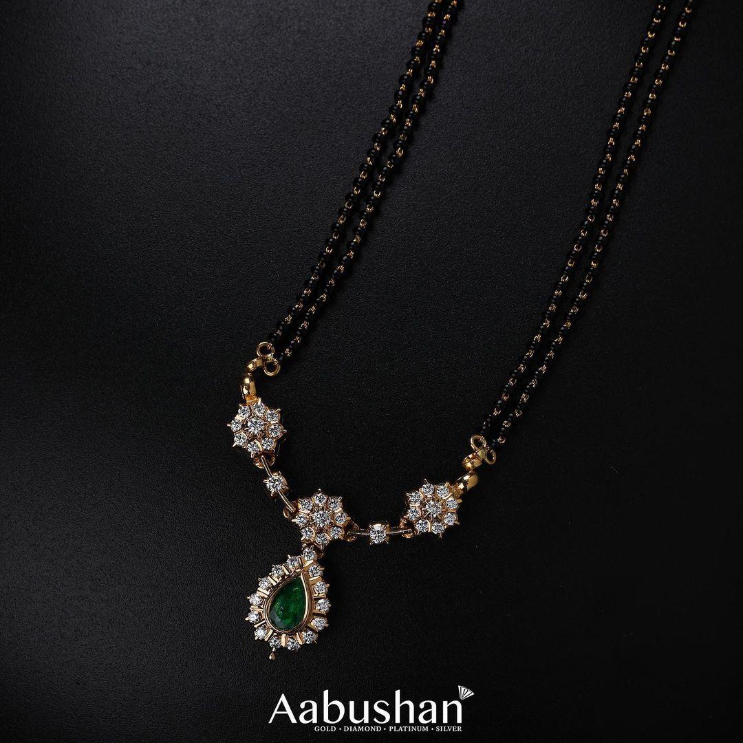 pure-diamond-emerald-stone-mangalsutra