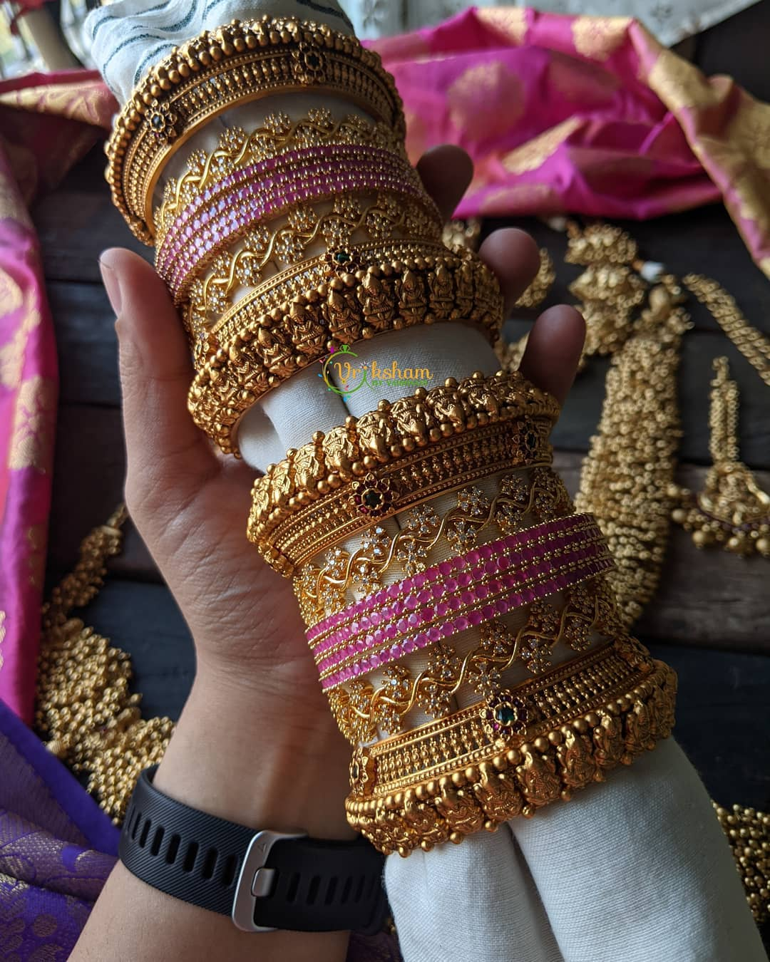 temple-bangles-set