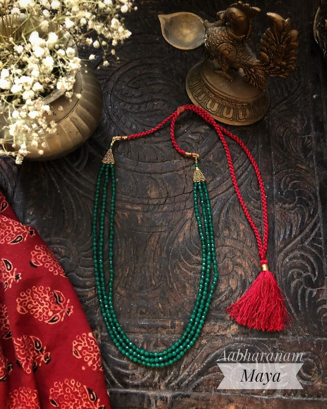 three-layer-beads-necklace