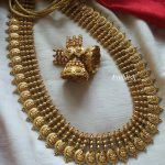 Traditional Kasumalai Short Necklace By Emblish Coimbatore!