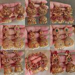 Traditional Long Jhumka Collection From The South India Jewels!